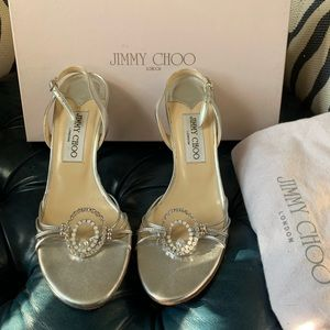 Jimmy Choo Evelyn Sandals 36 1/2